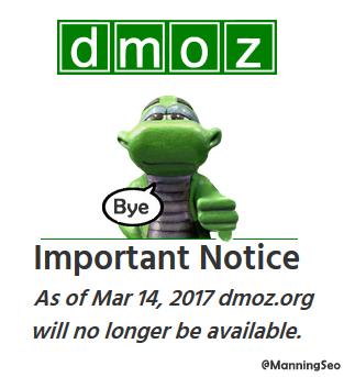 DMOZ Closes