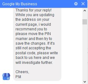 Fix Google My Business Invalid Address