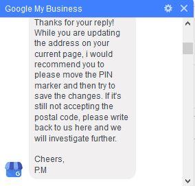 Fix Google My Business Invalid Address