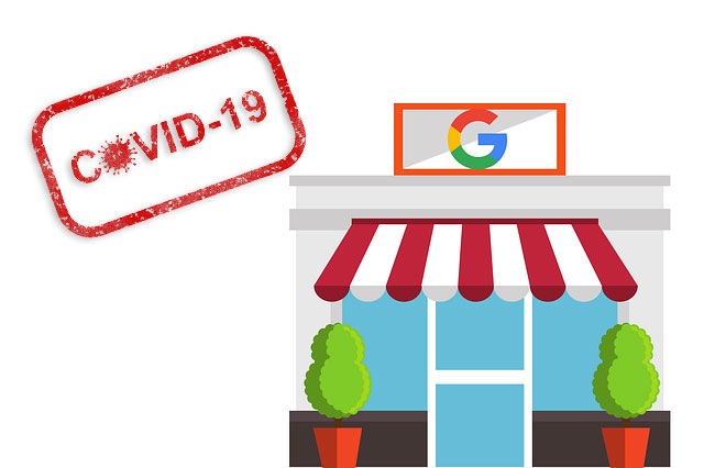 covid 19 google my business